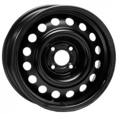 Штампованные колесные диски ТЗСК LADA 5.5x13 4x98 ET35 DIA58.6 Black